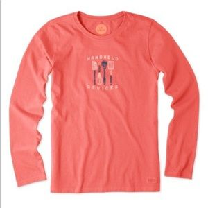 Sunny Coral 'Handheld Devices' Long-Sleeve - M